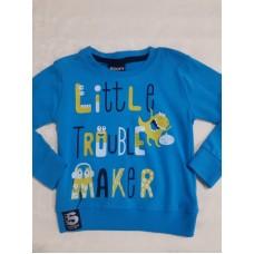Реглан голубой little