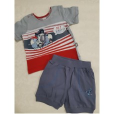 Комплект футболка и шорты Pirat