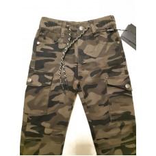 Джинсы - брюки камуфляж